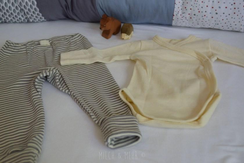 Milchfasern in warmer Kinderkleidung