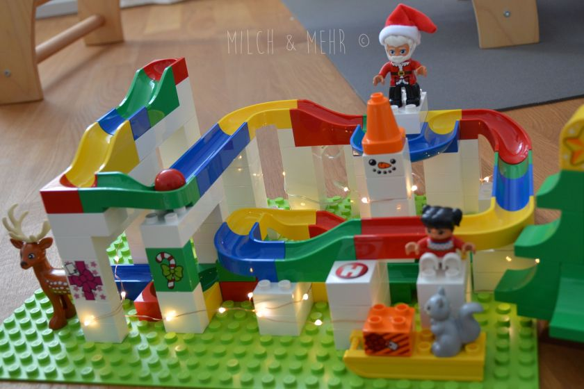 Hubelino und Lego Duplo kombinieren