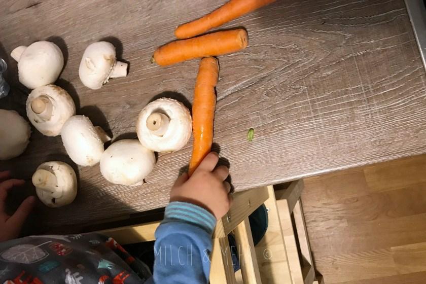 WIB #kw48 vegetarische Lasagne fuer Kinder
