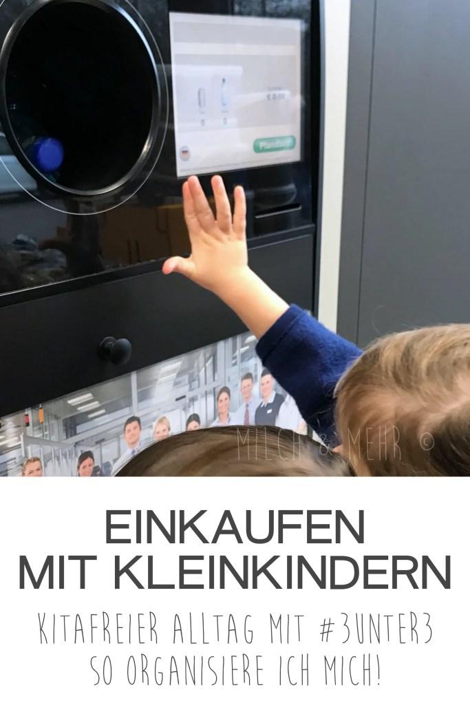 Wocheneinkauf mit Kleinkindern