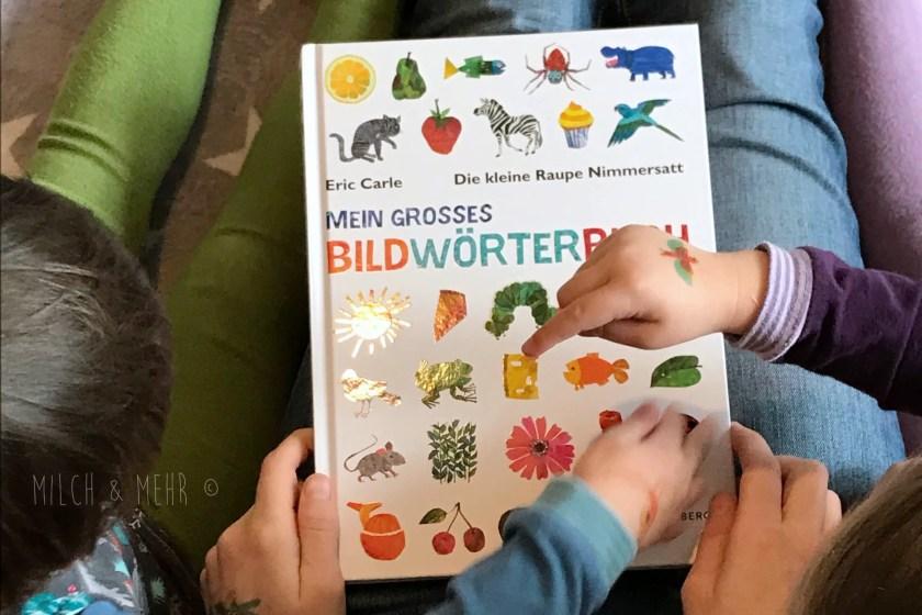 Raupe Nimmersatt Jubilaeum Bildwoerterbuch