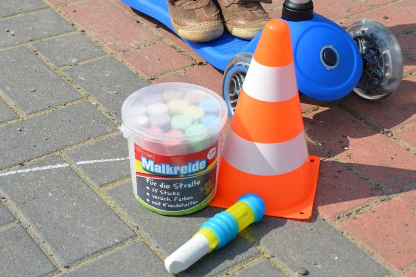 einfache Spielideen mit Strassenkreide von Mifus Onlineshop