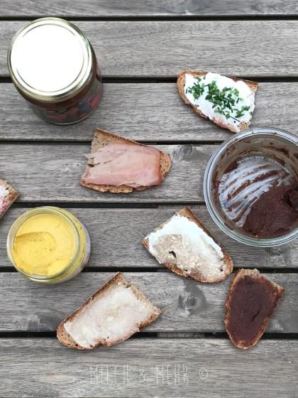 Brotbelag Aufschnitt gesund fuer Baby