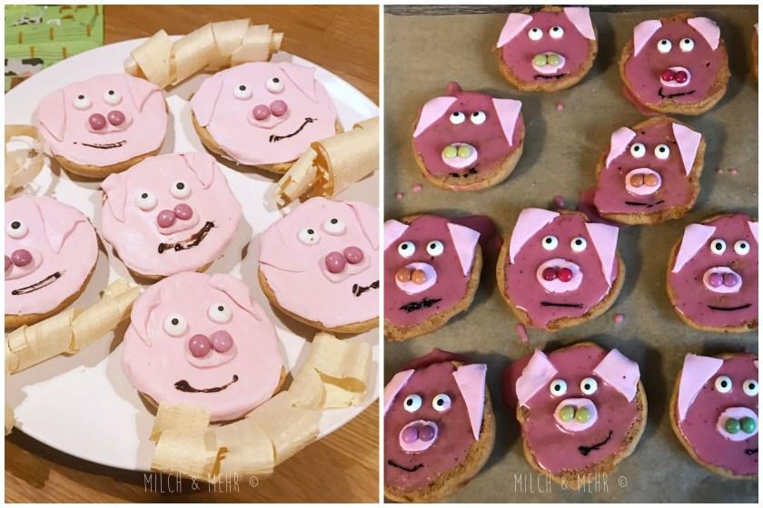 Amerikaner Schweine Bauernhof Kindergeburtstag