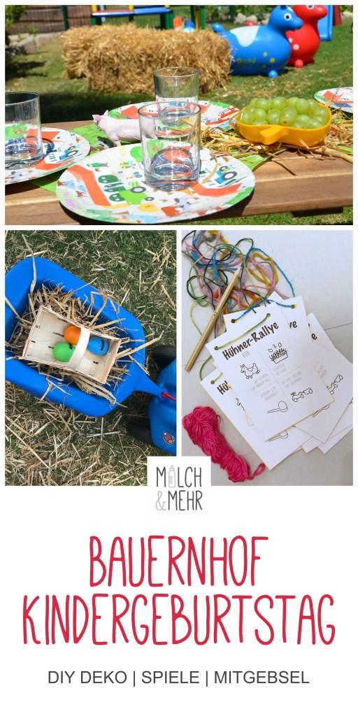 Bauernhof Kindergeburtstag Inspirationen