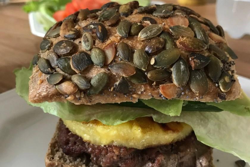WIB #kw27 Burger selbstgemacht Vollkornbrot