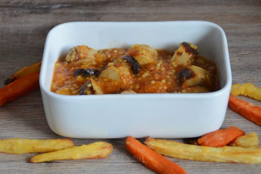 Grillreste gesunde Currysauce selbstgemacht