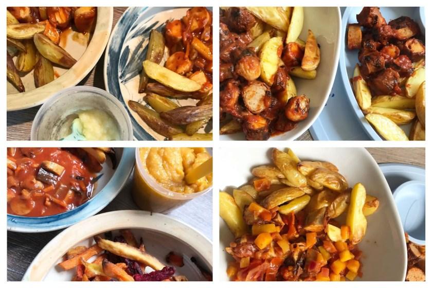 Resteverwertung Currywurst Rezept