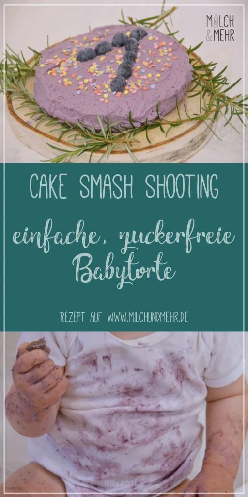 Cake Smash zuckerfreies einfaches Rezept