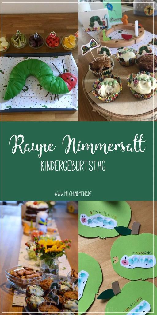 Raupe Nimmersatt Kindergeburtstag Inspirationen