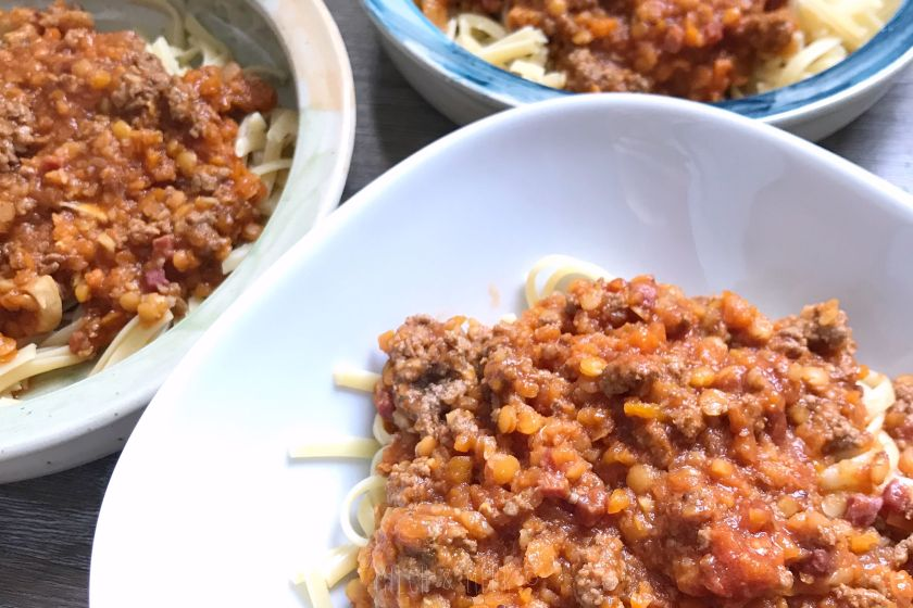 die beste Bolognese klassisch vegetarisch und kinderfreundlich