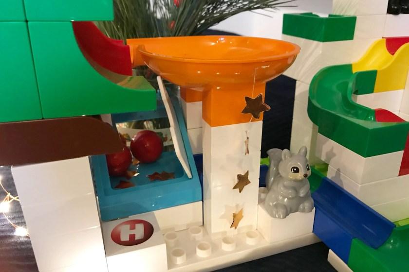 Hubelino Kugelbahn zu Weihnachten wie Elf On The Shelf