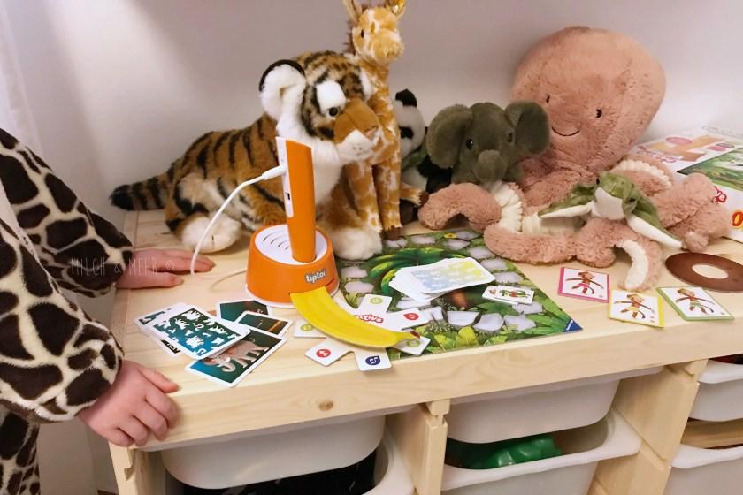 Spieltest Tiptoi Dschungel Olympiade