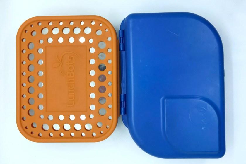 Vergleich Brotdose Stahl und Biokunststoff