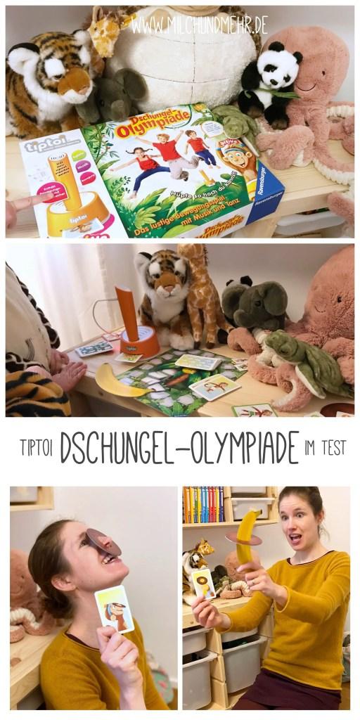 tiptoi Dschungel Olympiade Spielrezension