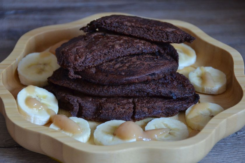 gesundes glutenfreies Pfannkuchenrezept