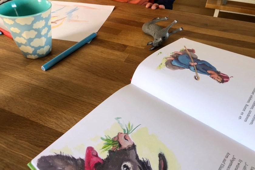 Elias erlebt Ostern Zeichnen