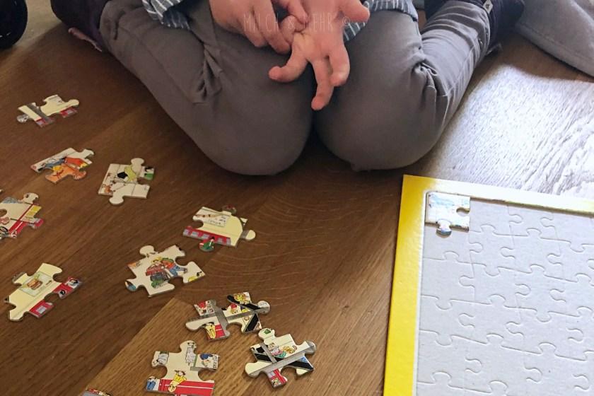 Ostergeschenk Wimmelpuzzle ausprobieren