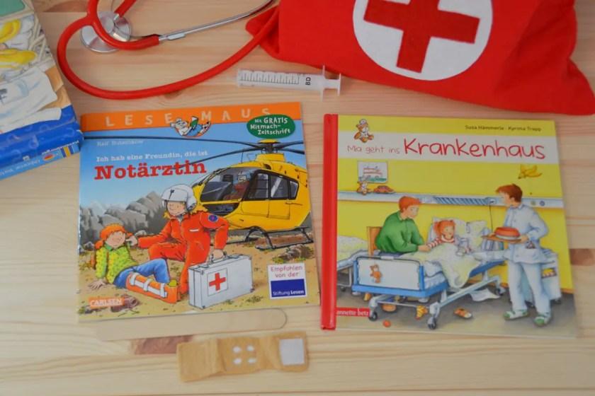 Vorlesen Kind im Krankenhaus