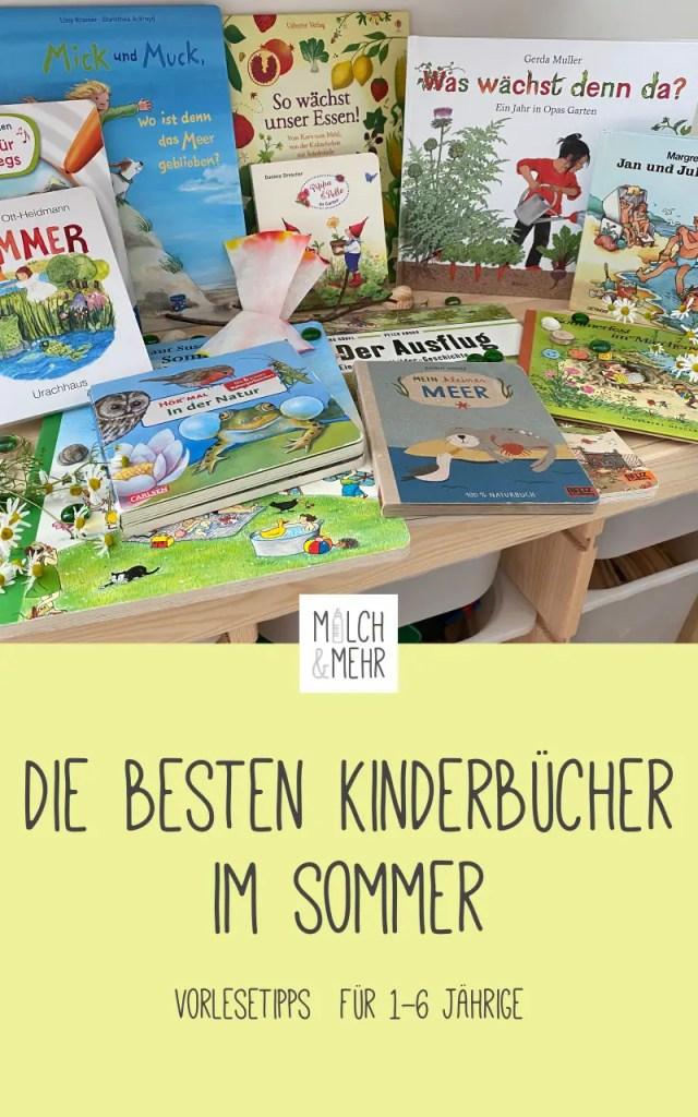 Vorlesen im Sommer