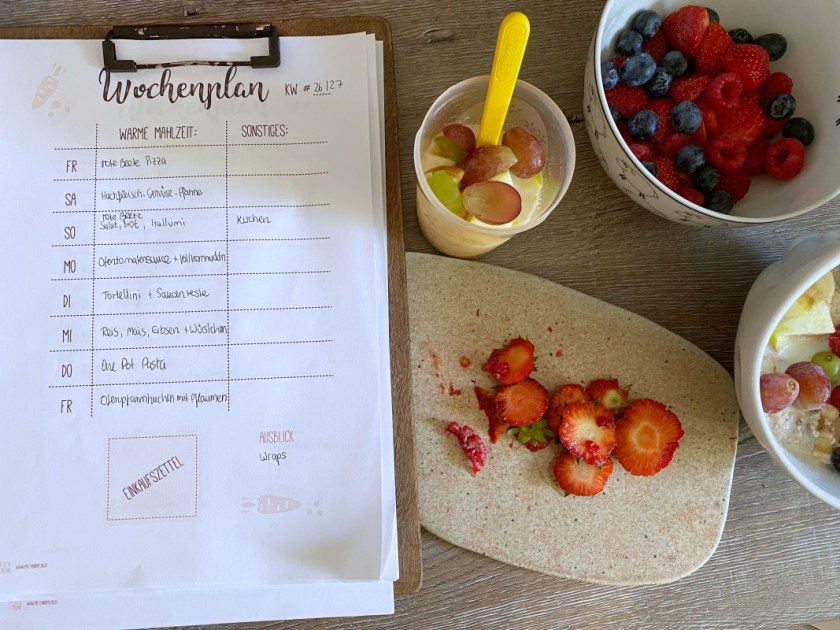 Meal Prep Ideen Sommer