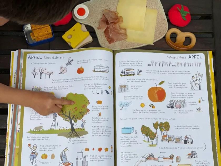 Kinderbuch Ernaehrung Lebensmittel
