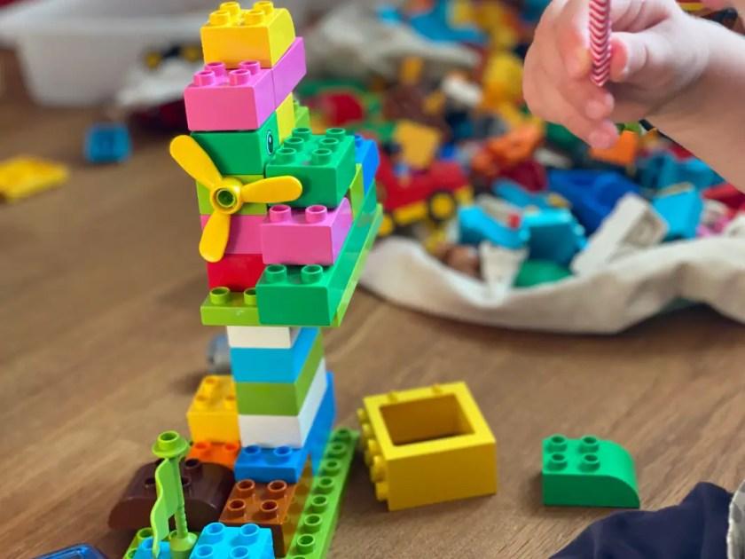 Familienwochenende Duplo Bauen