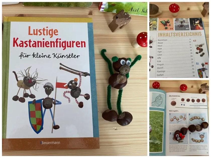 Kastanienfiguren Anleitung Buch