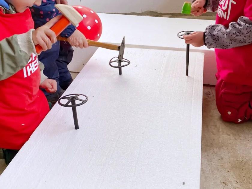 Baustellen Kindergeburtstag Spiele
