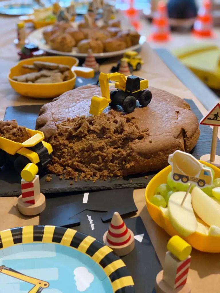 Baustellenparty Kindergeburtstag