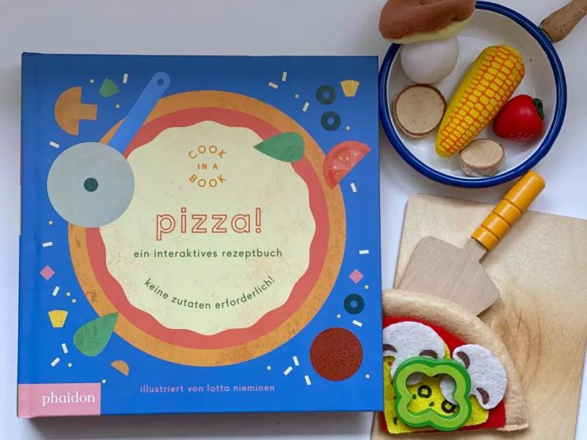 Kinderbuch Ernaehrung Pizza