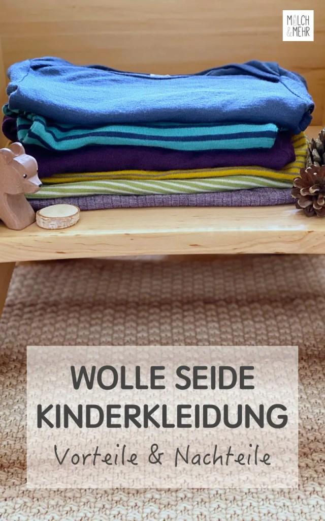 Wolle Seide Kinderkleidung