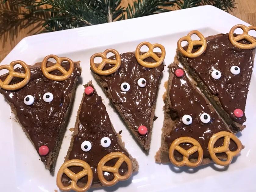 Retierkuchen selbstgemacht Kinder Snack Weihnachtlich