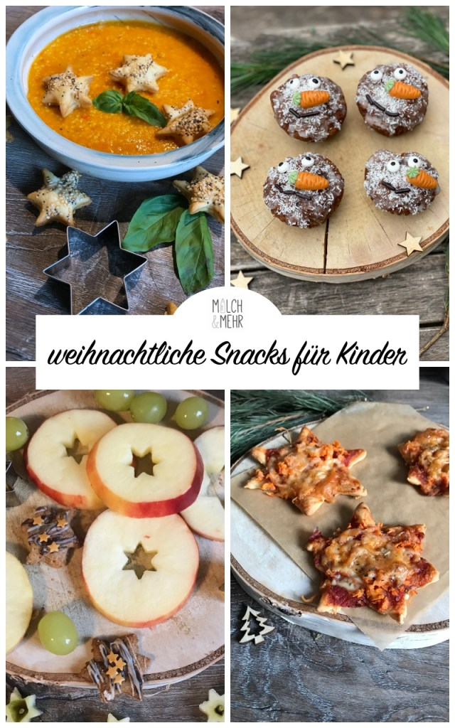 Kinder Snacks Weihnachten Advent