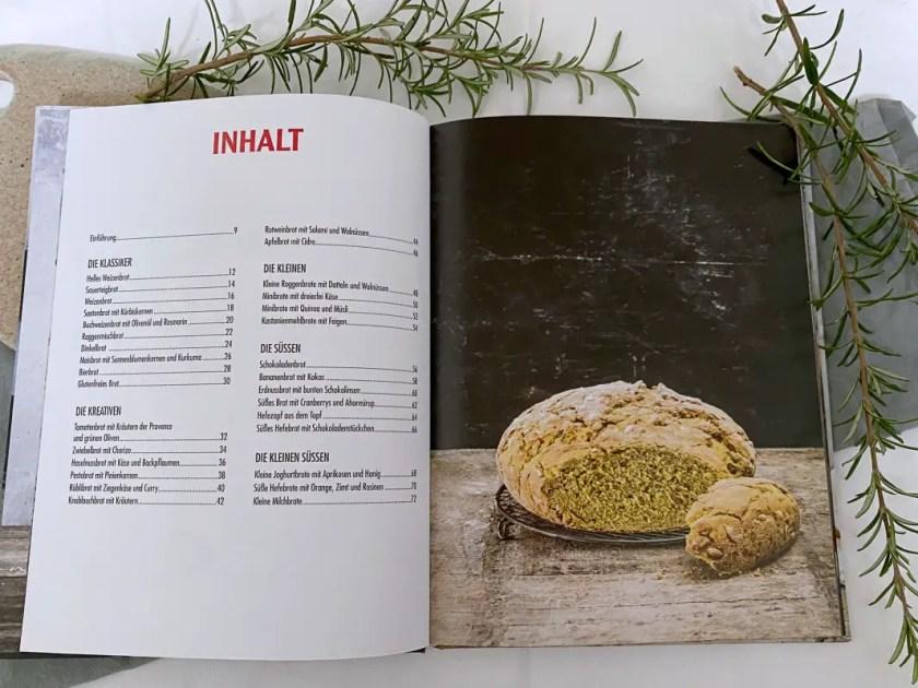 Brote aus dem Topf Inhaltsverzeichnis