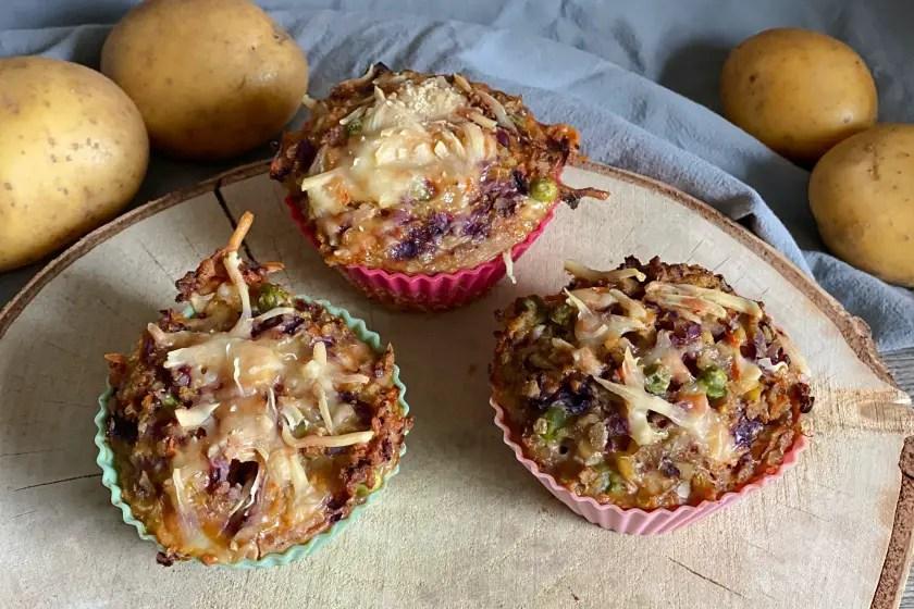 Kartoffel Gemuese Muffins