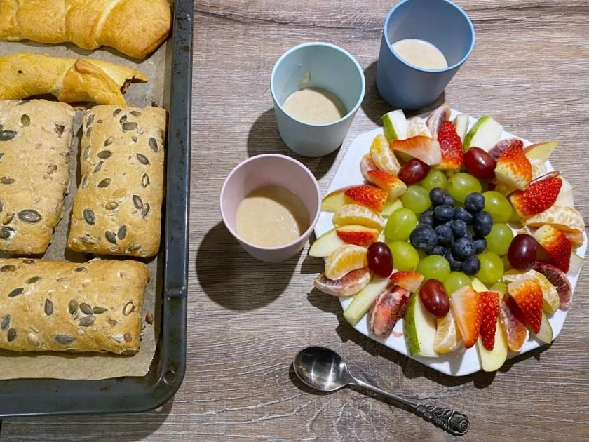 Milch und Mehr Fruehstueck
