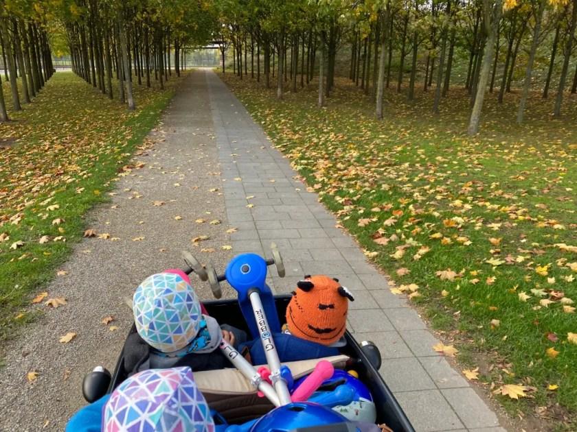 Lastenrad drei Kinder