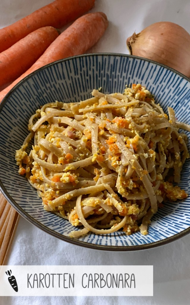 Karotten Carbonara Rezept