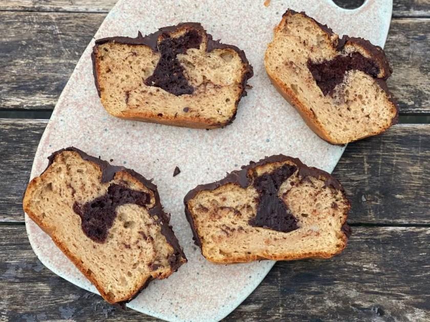 Marmorkuchen Rezept Zuckerfrei