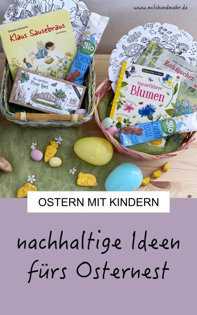 nachhaltige Ostergeschenke Kinder