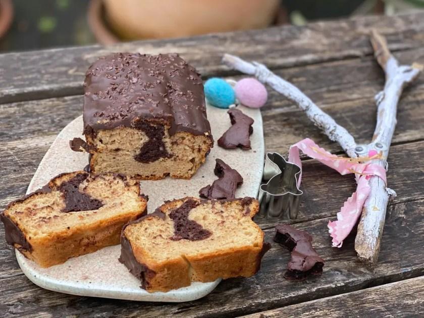 Osterhasen Kuchen Zuckerfrei