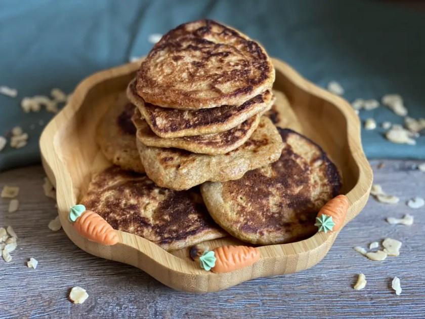 Pancakes Karotte Dinkel Nuss