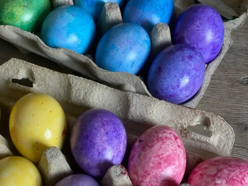 Eier fuer den Osterhasen