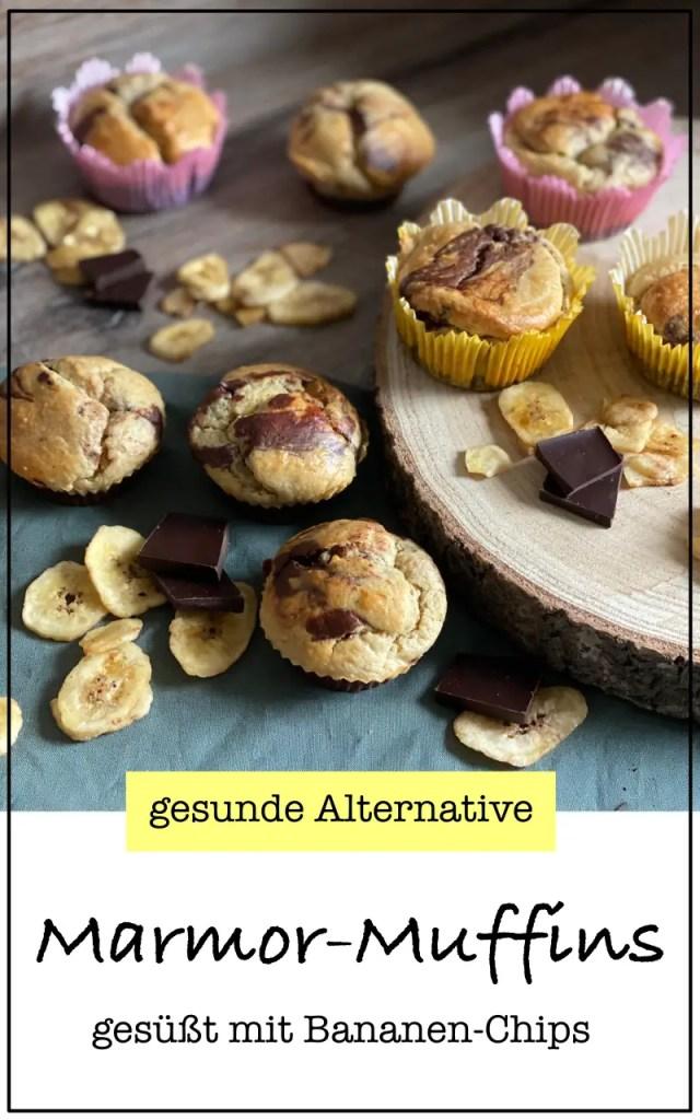 Marmor-Muffins Bananen