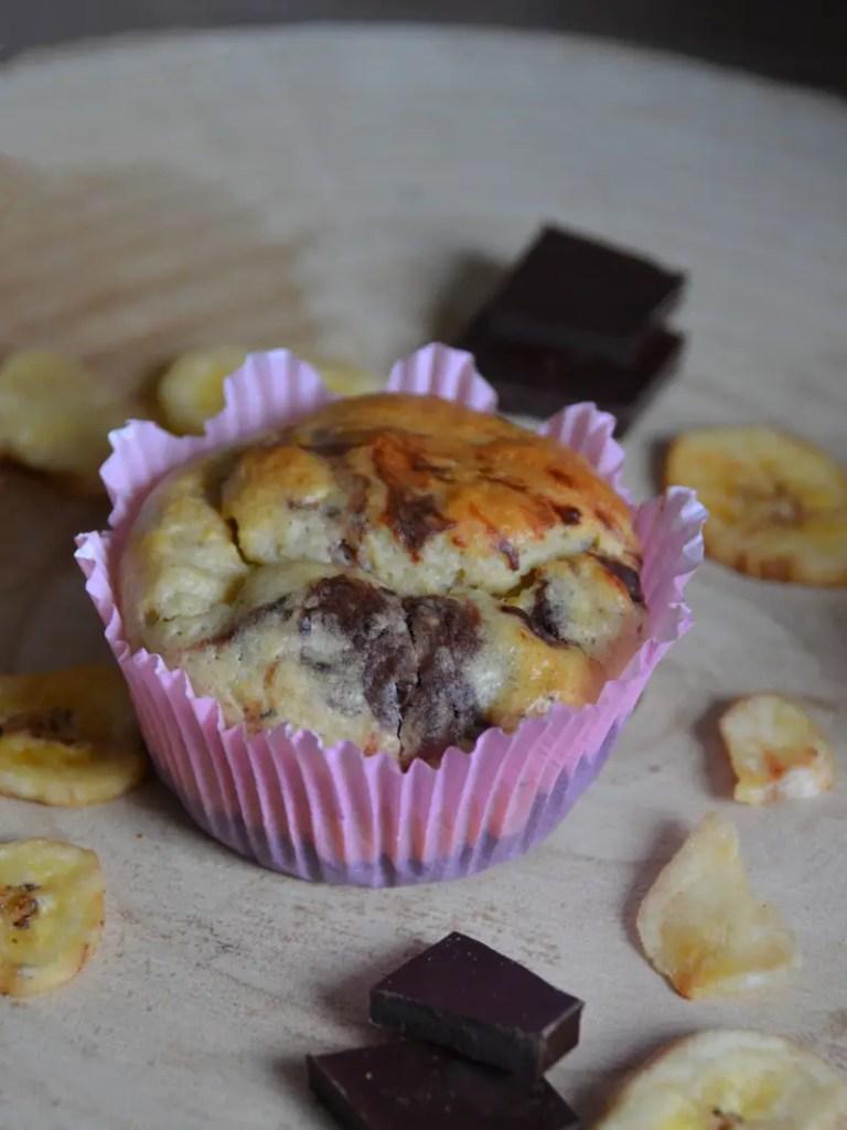Muffins Bananenchips