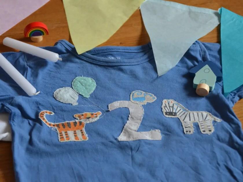 Shirt Zweiter Geburtstag