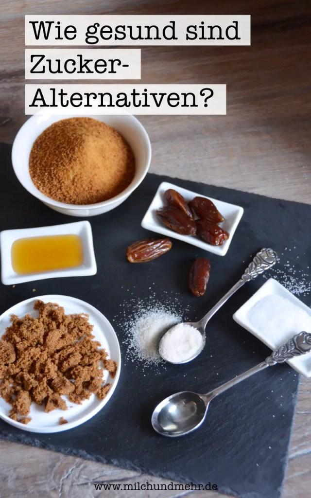 Zucker Alternativen Gesund