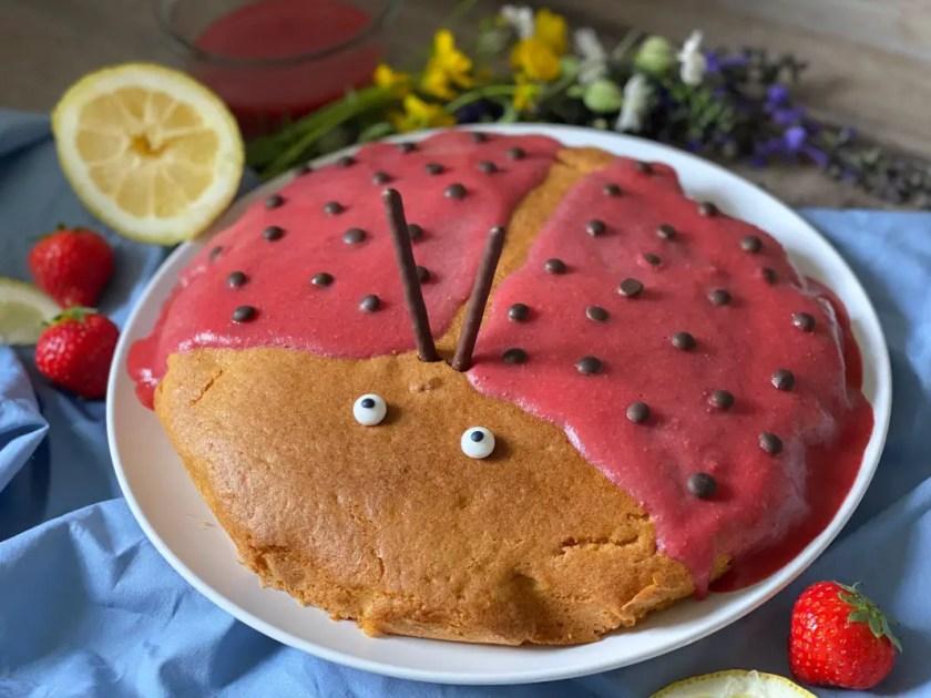 Marienkaefer-Kuchen Rezept