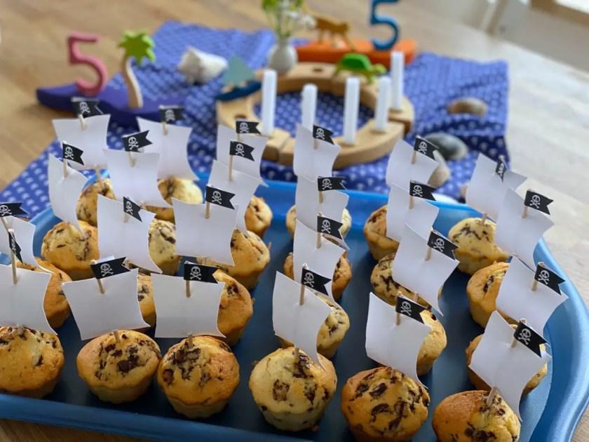 Piratenschiff Muffins